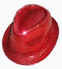 Trilby (Red Sequin)